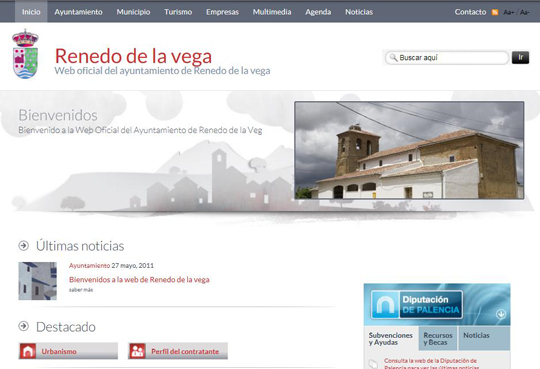 Bienvenidos a la web de Renedo de la vega